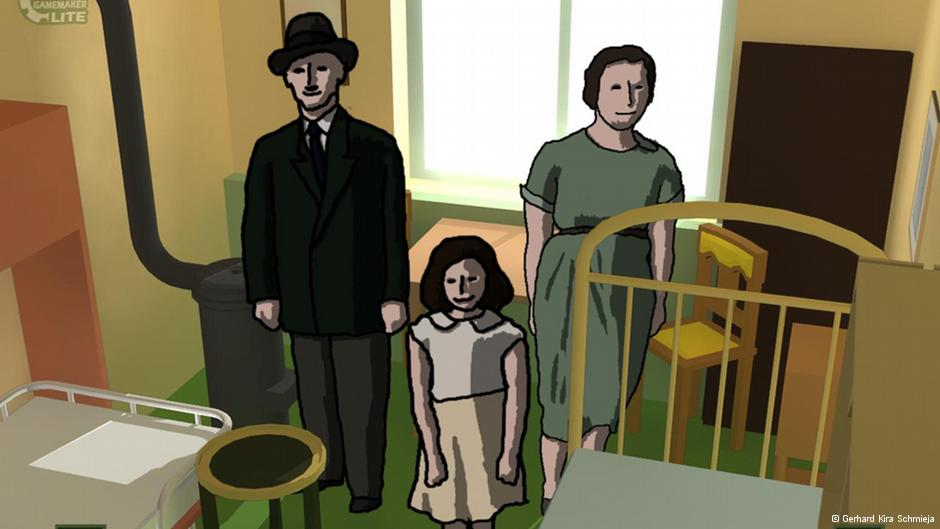 Spend a day in the life of Anne Frank in this student-made game