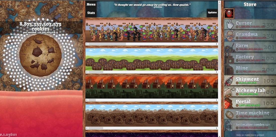 The cult of the cookie clicker: When is a game not a game?