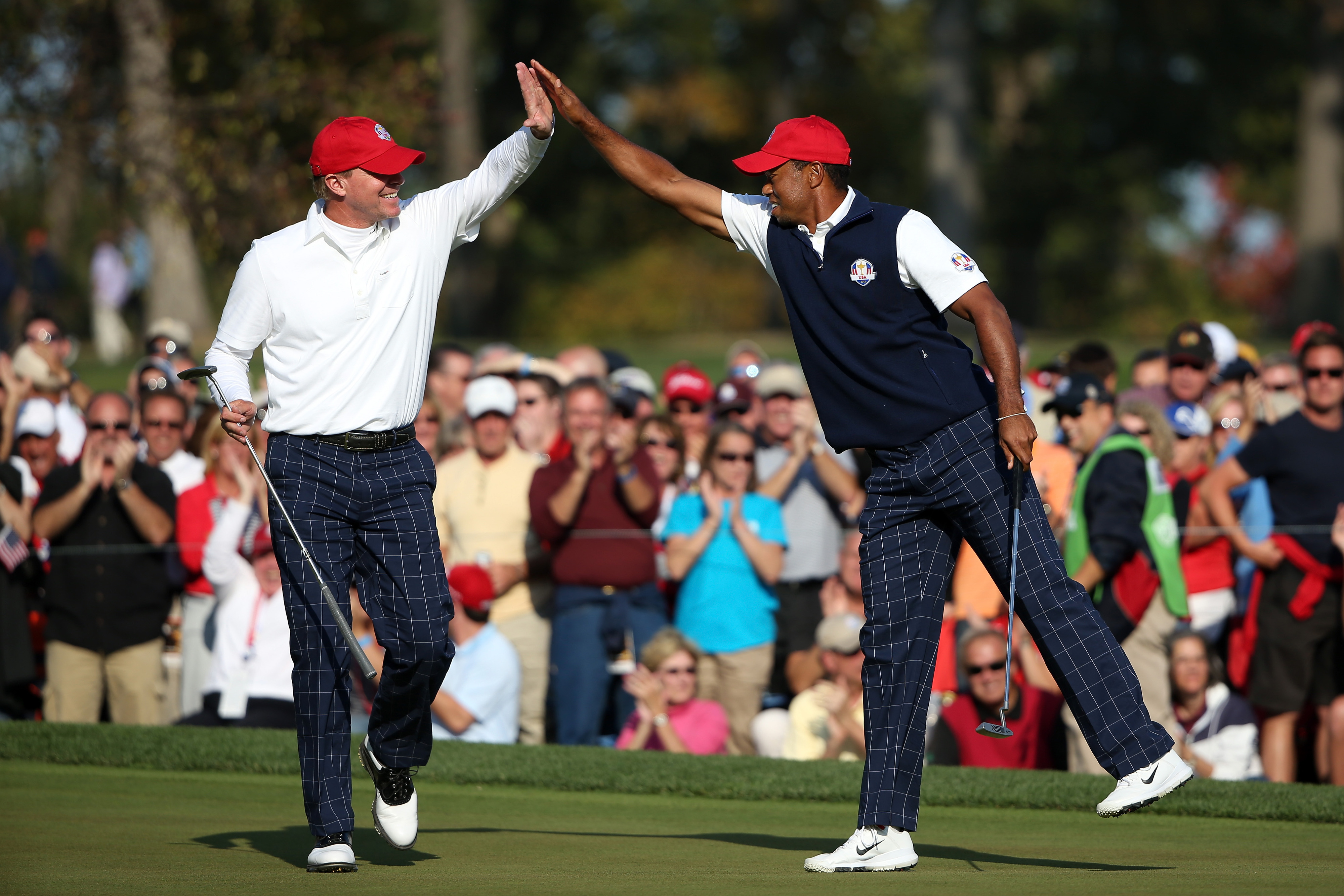 Steve Stricker-Tiger Woods split expected at 2013 Presidents Cup