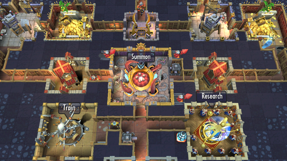 Dungeon Keeper remains faithful to the original through humor