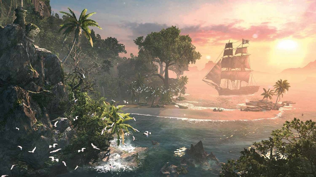 Collect action figures, sing and fight ships of legend in Assassin's Creed 4