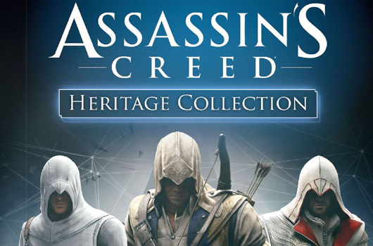 Assassin's Creed Heritage Collection comes to Europe on Nov. 8