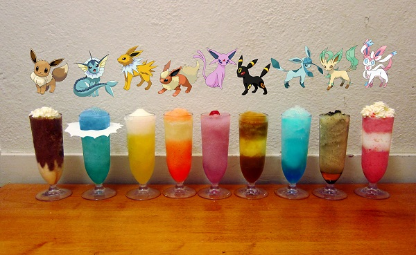 Pokemon cocktails offer adult fun with a twist