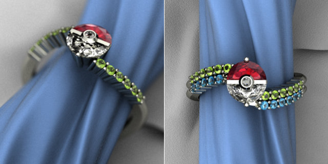 Pokemon-inspired 'Trainer's Band' lets you put a ring on it