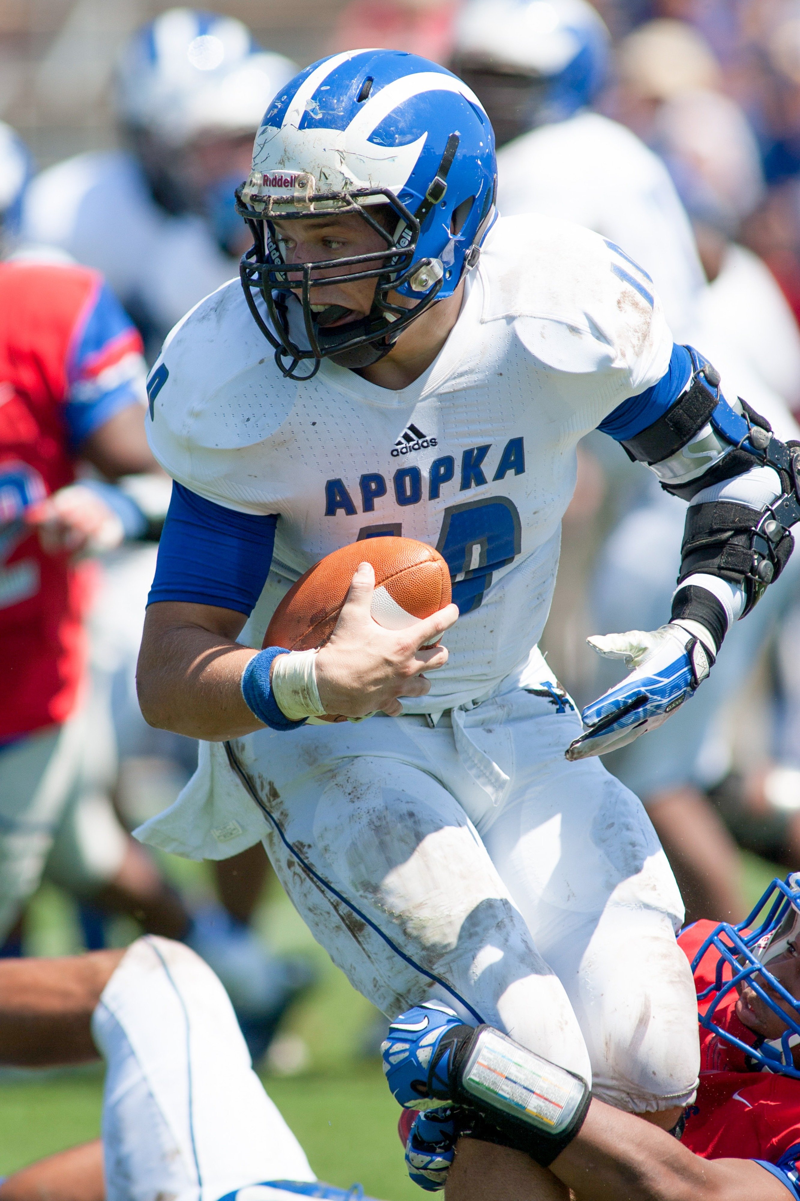 Chandler Cox of Apopka in Florida holds a UK offer for 2015