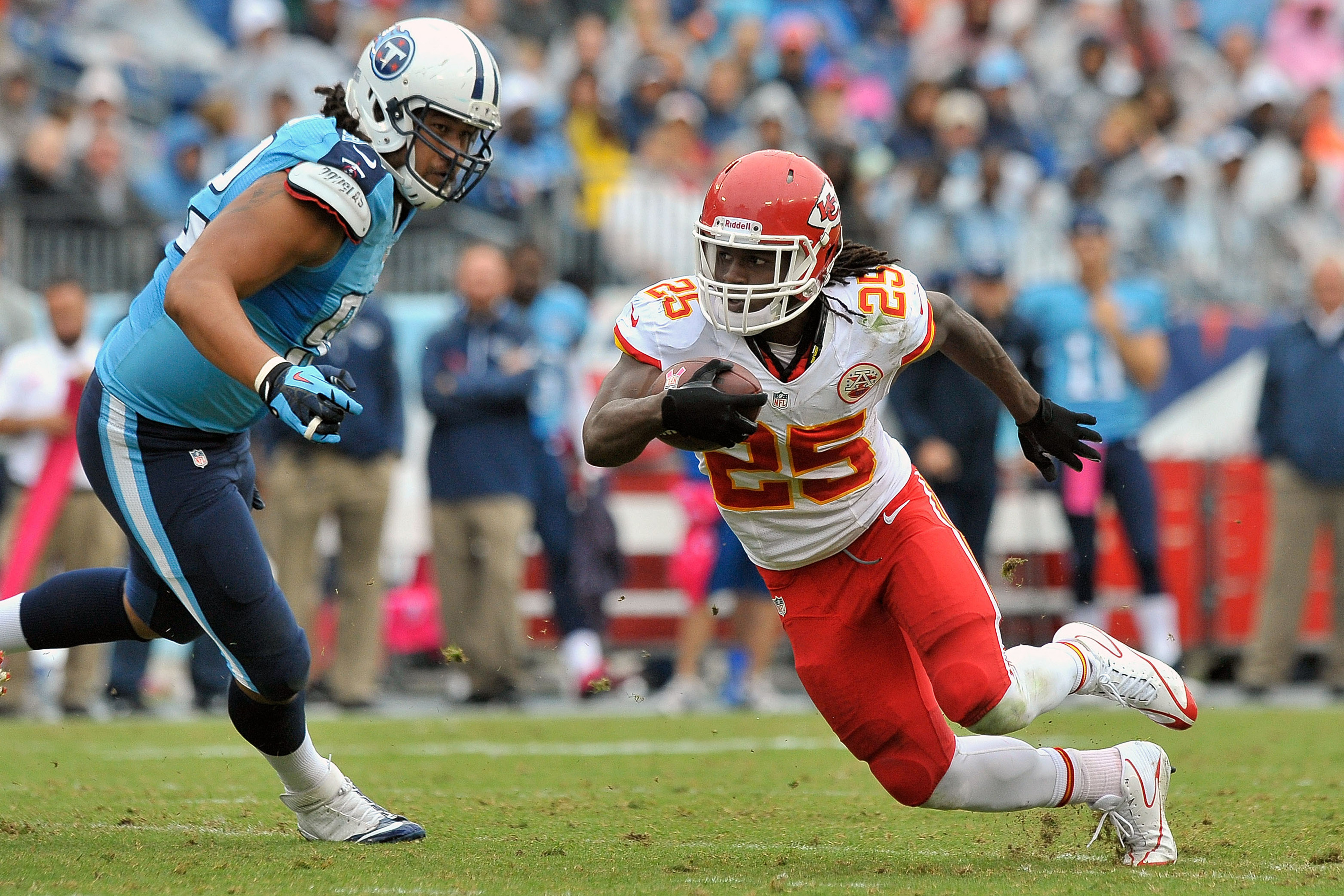 Chiefs vs. Titans 2013 game recap: Kansas City holds off Tennessee, 26-17, to stay undefeated