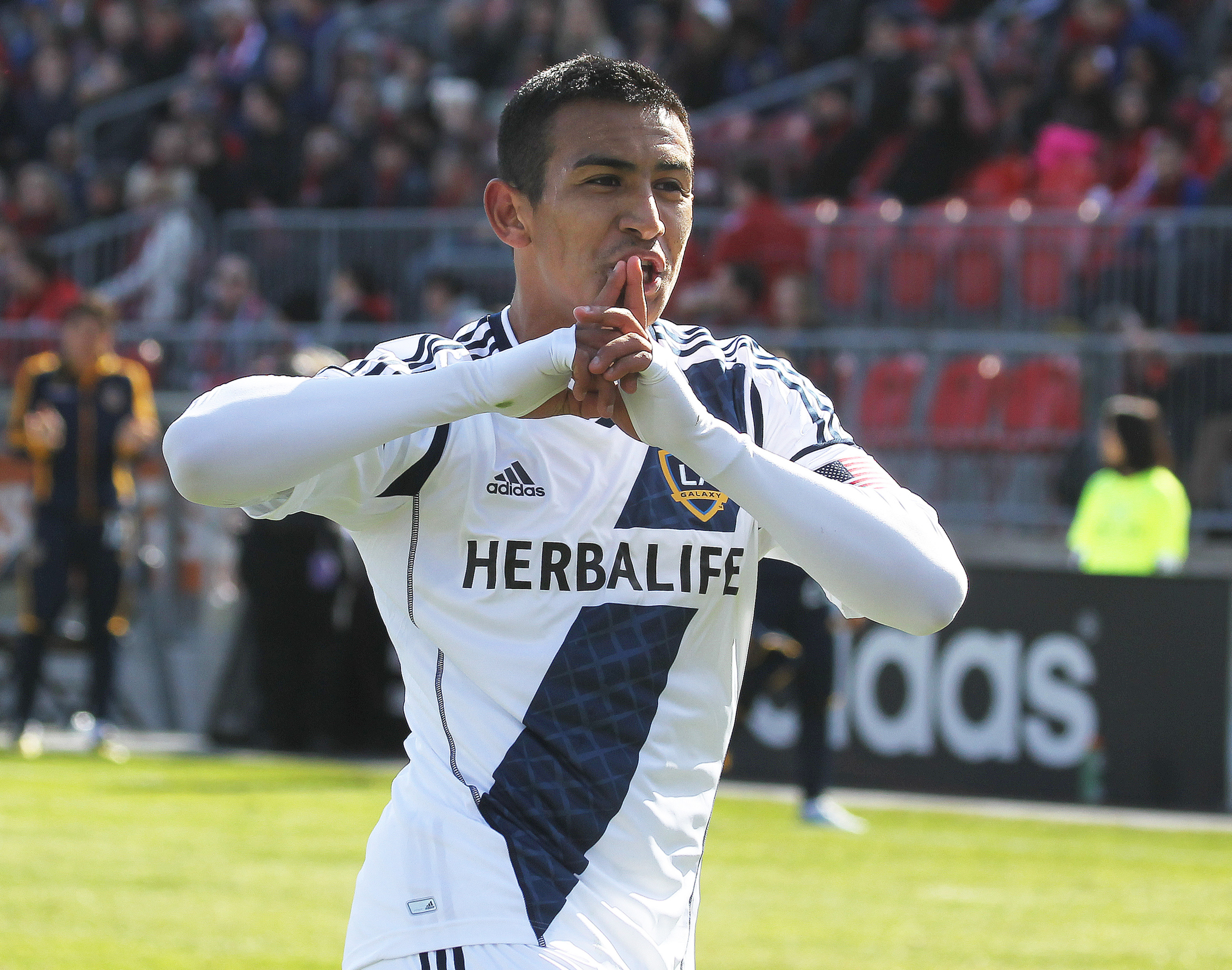 The Galaxy's Jose Villareal's propeled the Galaxy to the Reserve League win and title.