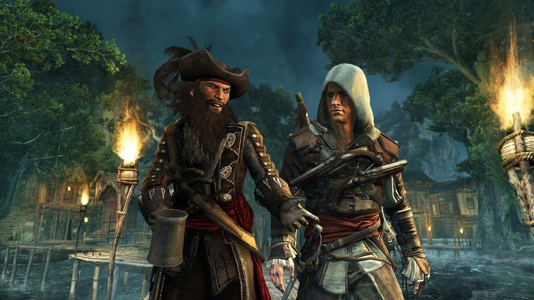 Assassin's Creed 4: Black Flag features up to five hours of modern day content
