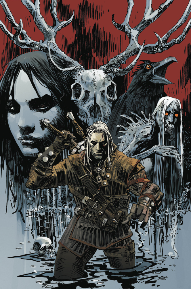 Eve Online and Witcher comics coming from Dark Horse in 2014