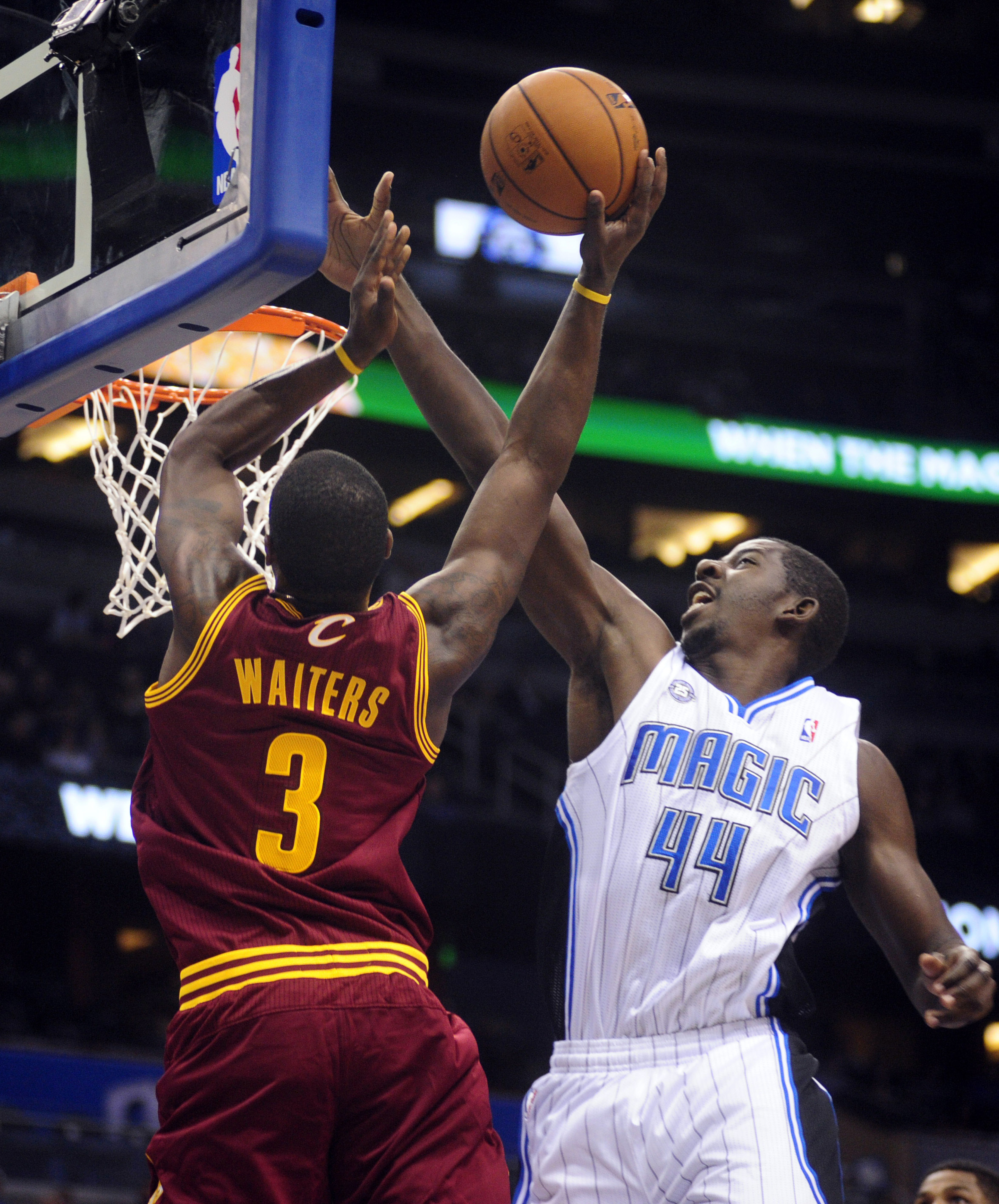 Dion Waiters and Andrew Nicholson