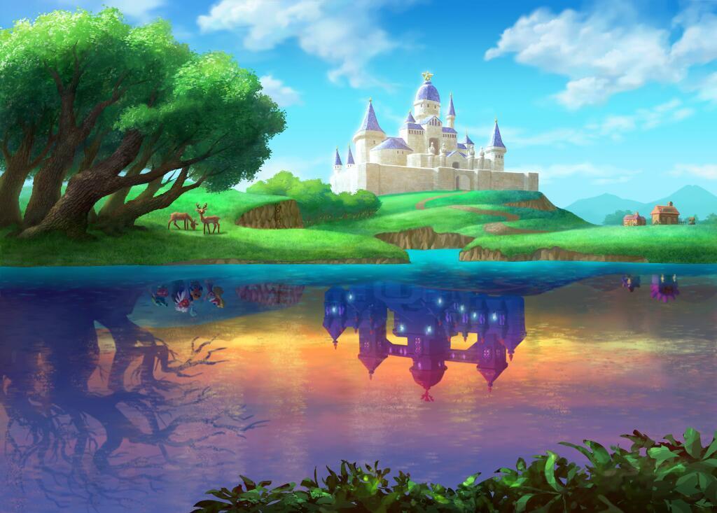Zelda: A Link Between Worlds connects Hyrule's Zelda and Lorule's Hilda