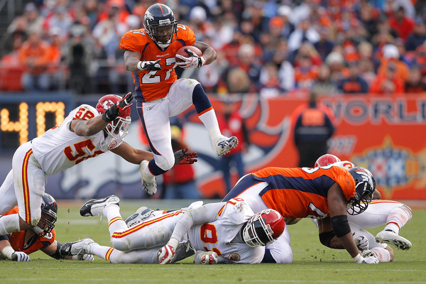 Make sure you're starting Moreno and the rest of the Broncos today