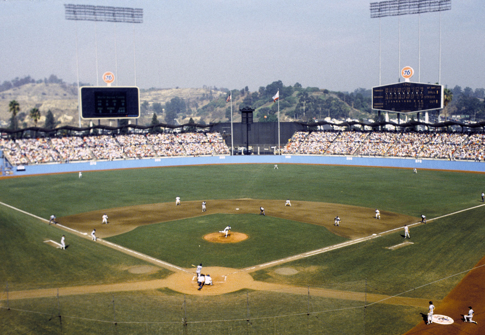The 1981 World Series is one of three best-of-7 series won by the Dodgers after trailing 2-0.