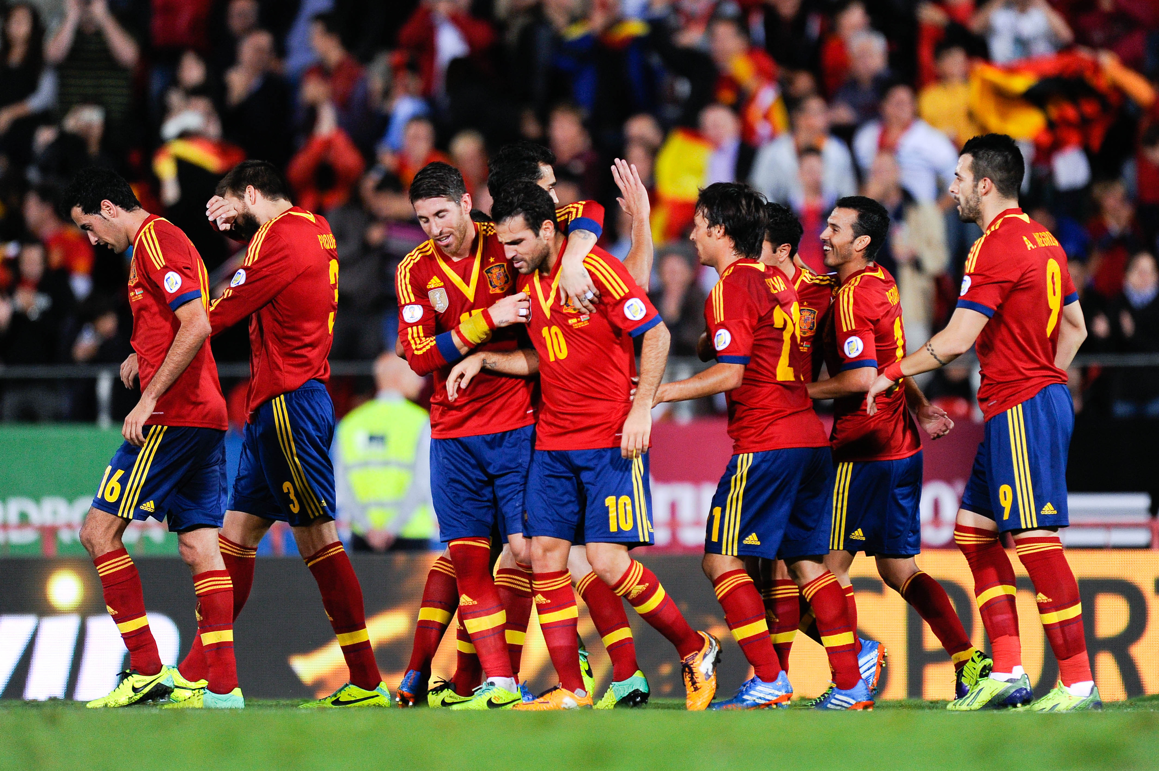 Spain seal ticket to 2014 World Cup
