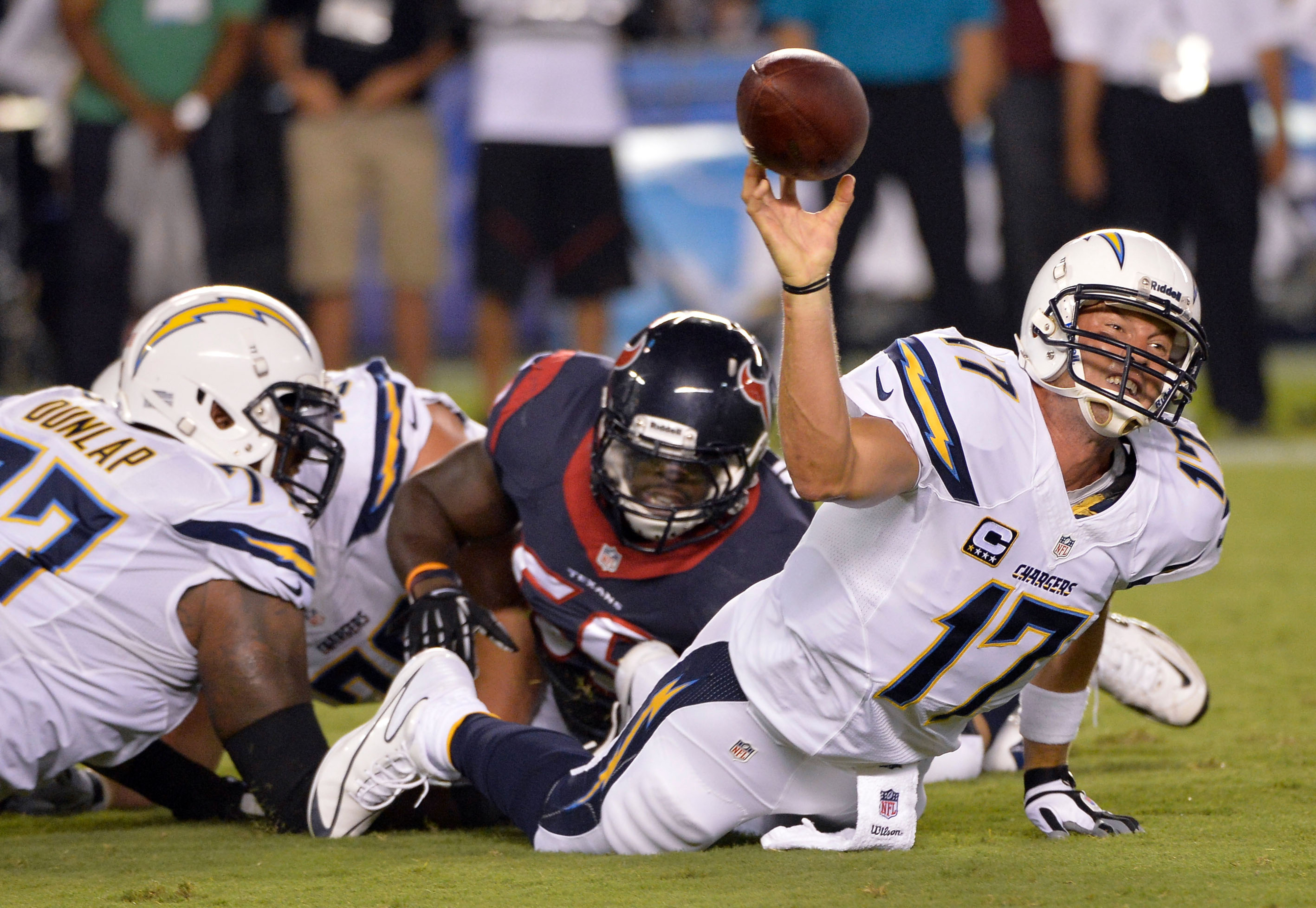 Oh, the salad days of the Texans' 2013 season.