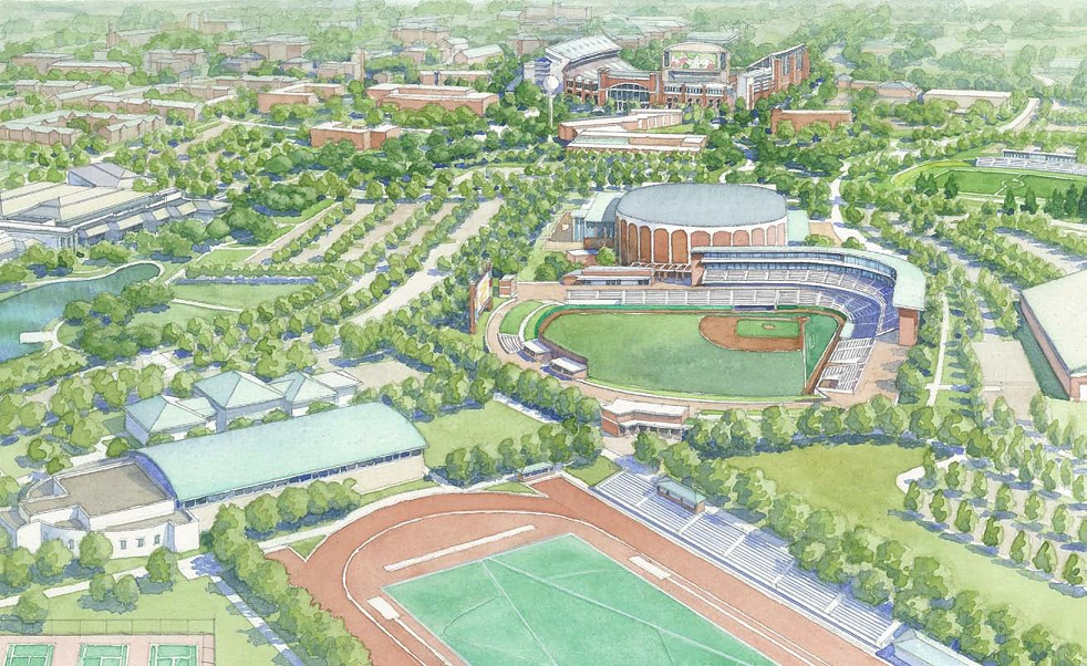 The road to a renovated Dudy Noble Field got underway tonight with the first of two fan idea sessions