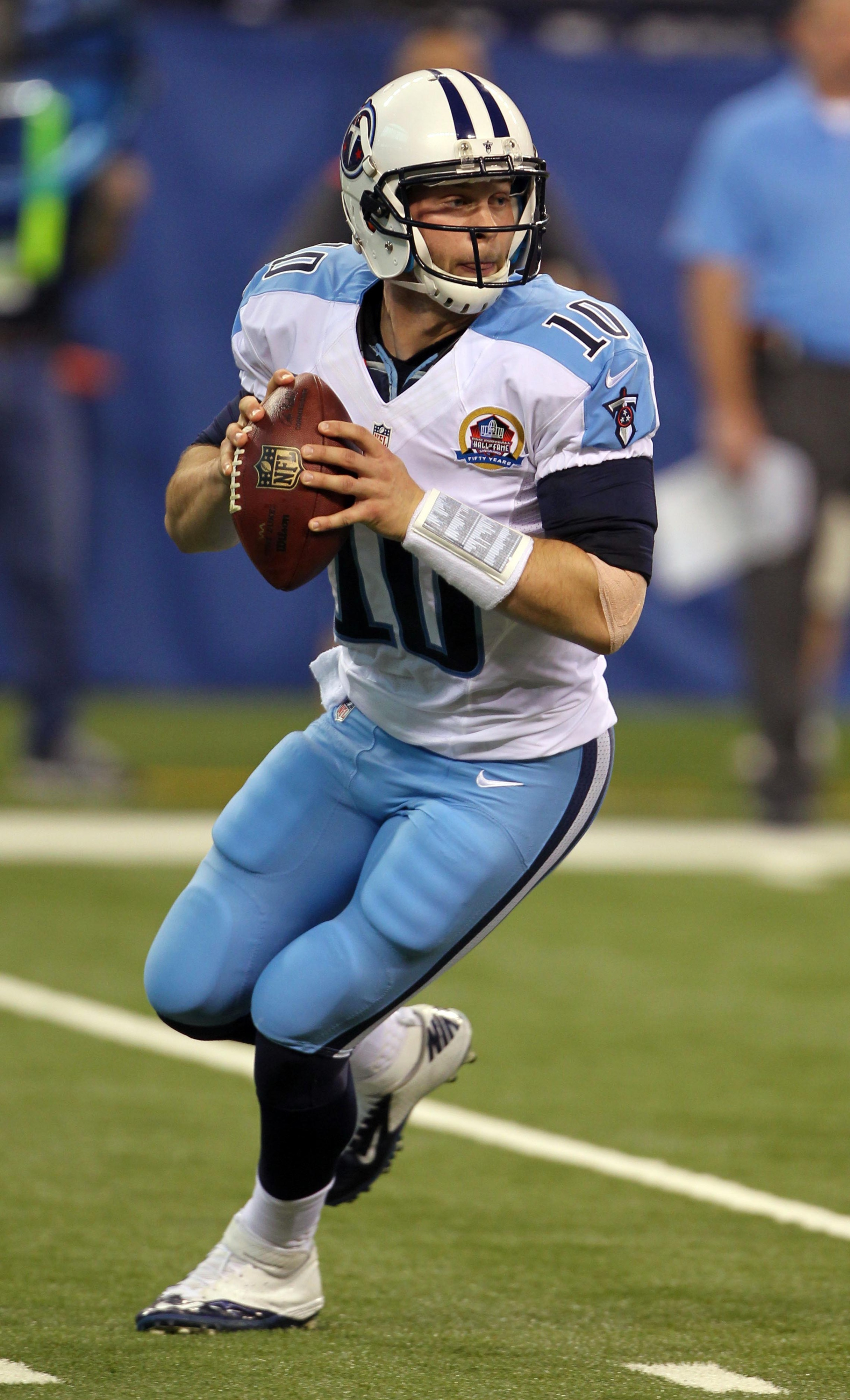 Jake Locker injury: Titans QB unlikely to play against 49ers