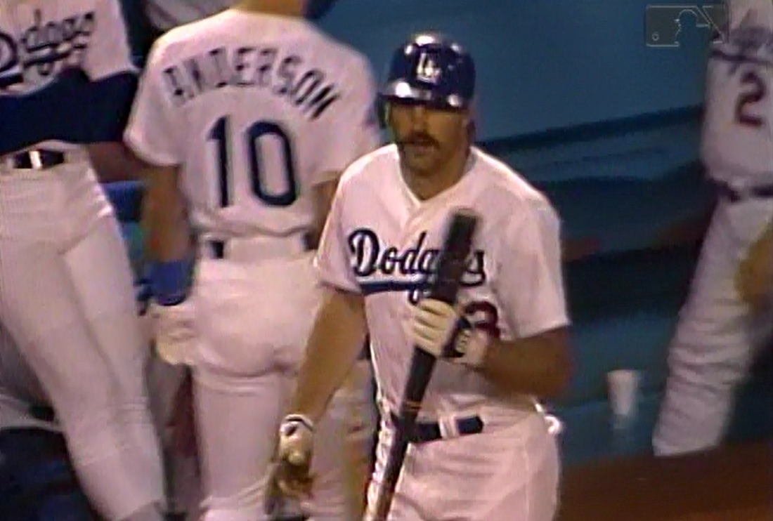 Dave Anderson was only a decoy in the on-deck circle in the ninth inning.