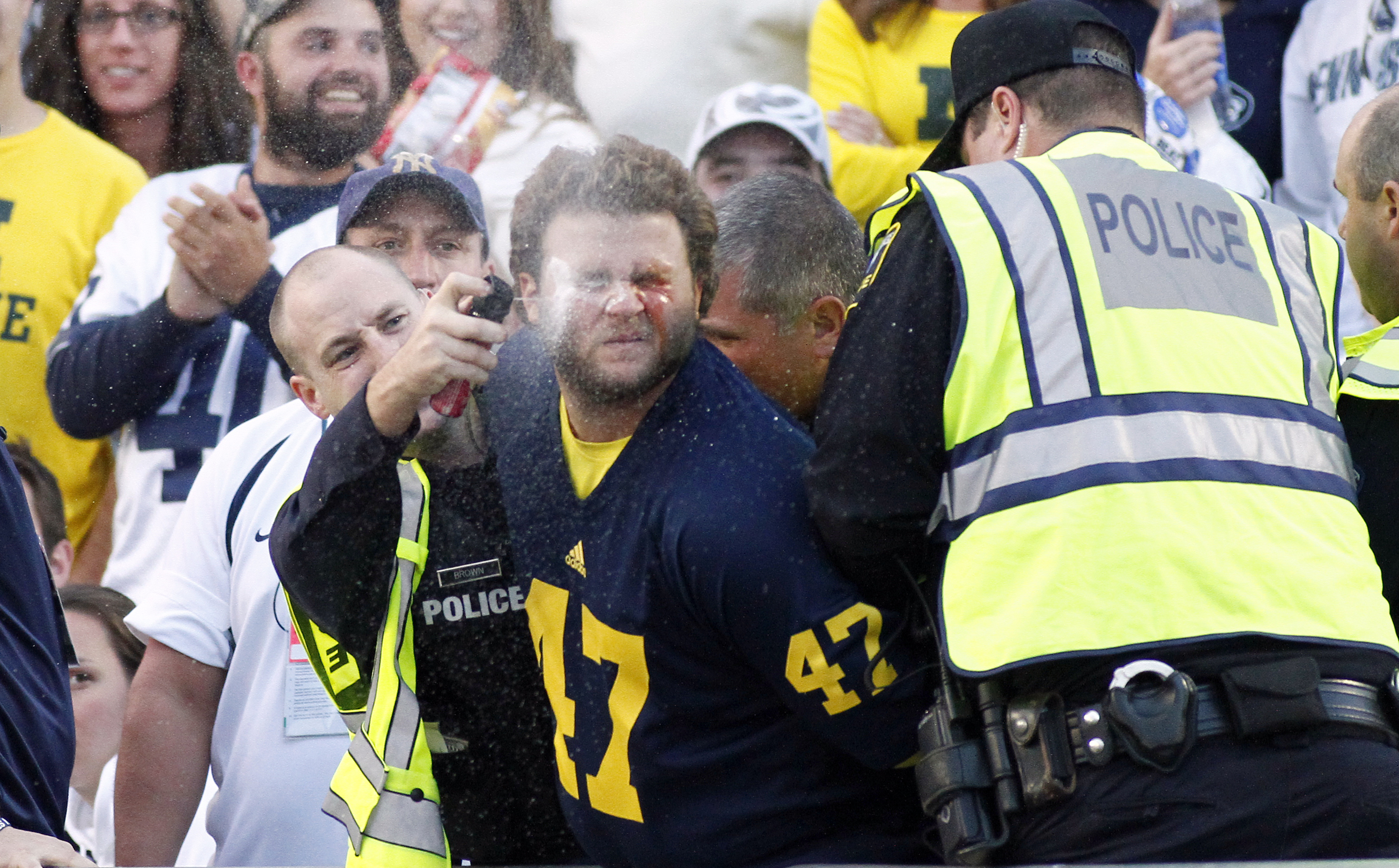 i join with the chorus and declare this the luckiest michigan fan on the planet