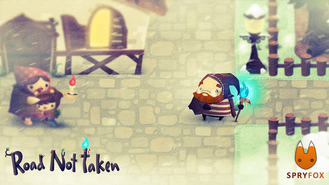 Road Not Taken inspired by unexpected turns in developer's journey