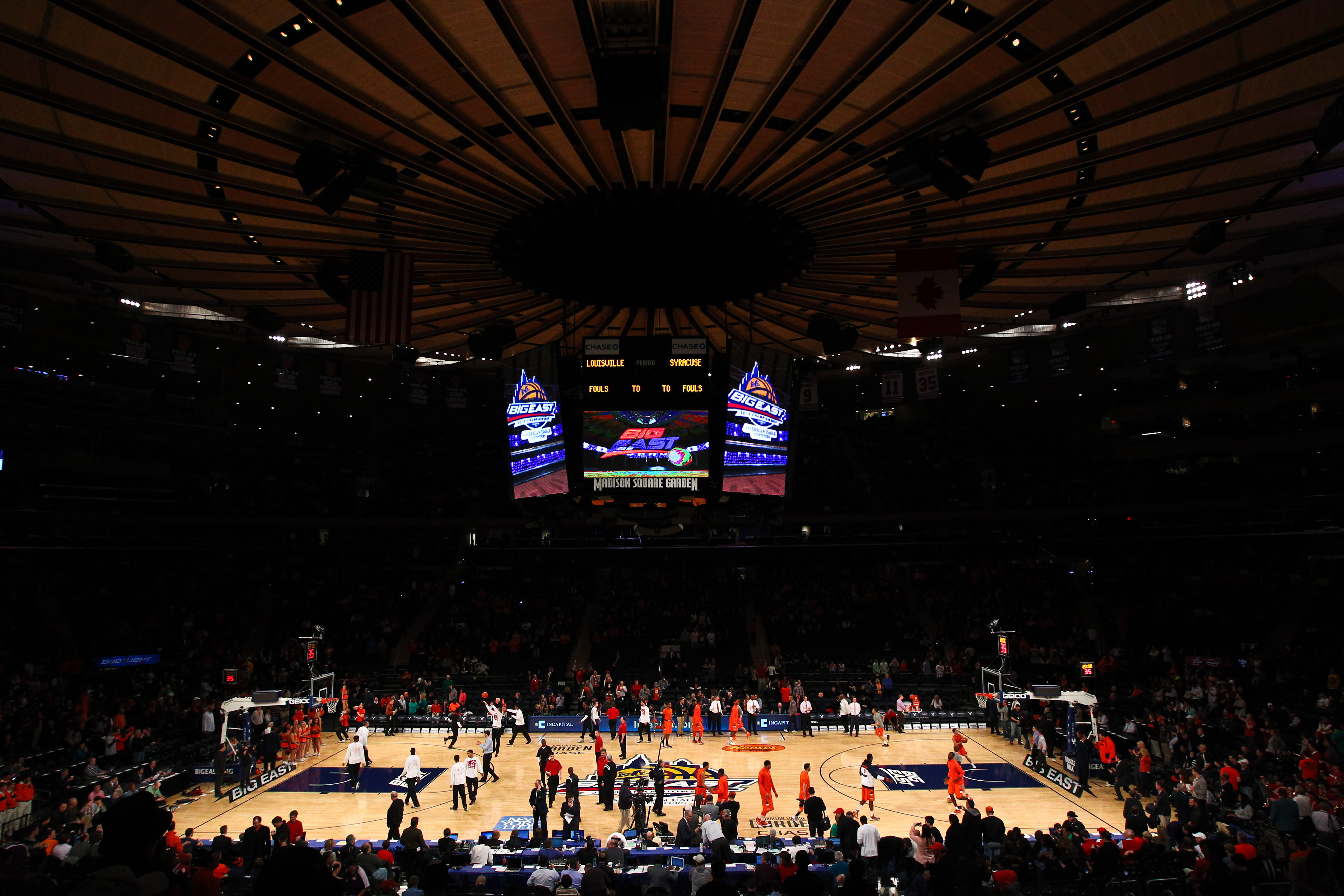 MSG will continue to be the home of the Big East's biggest moments