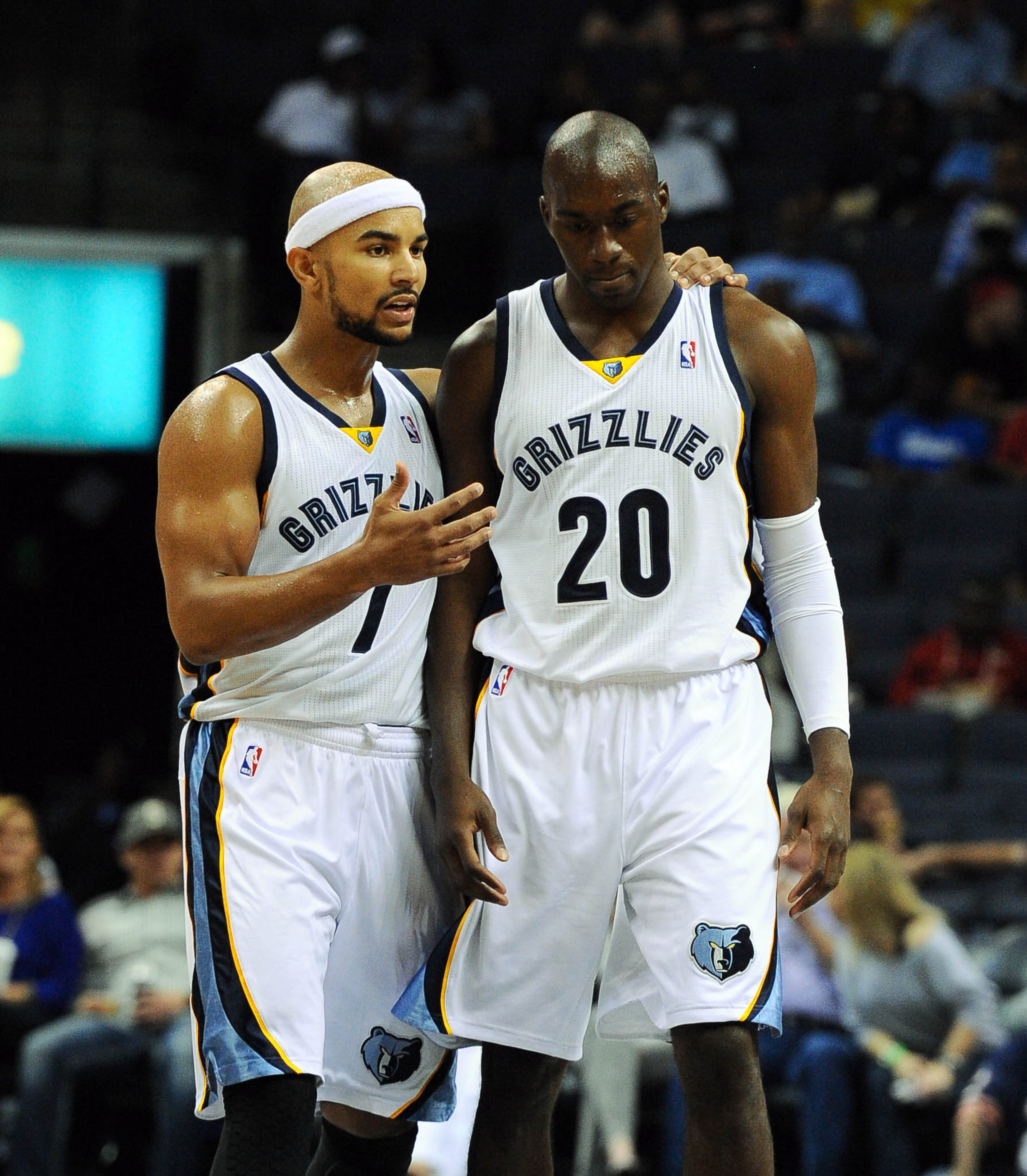 Jerryd Bayless and Quincy Pondexter