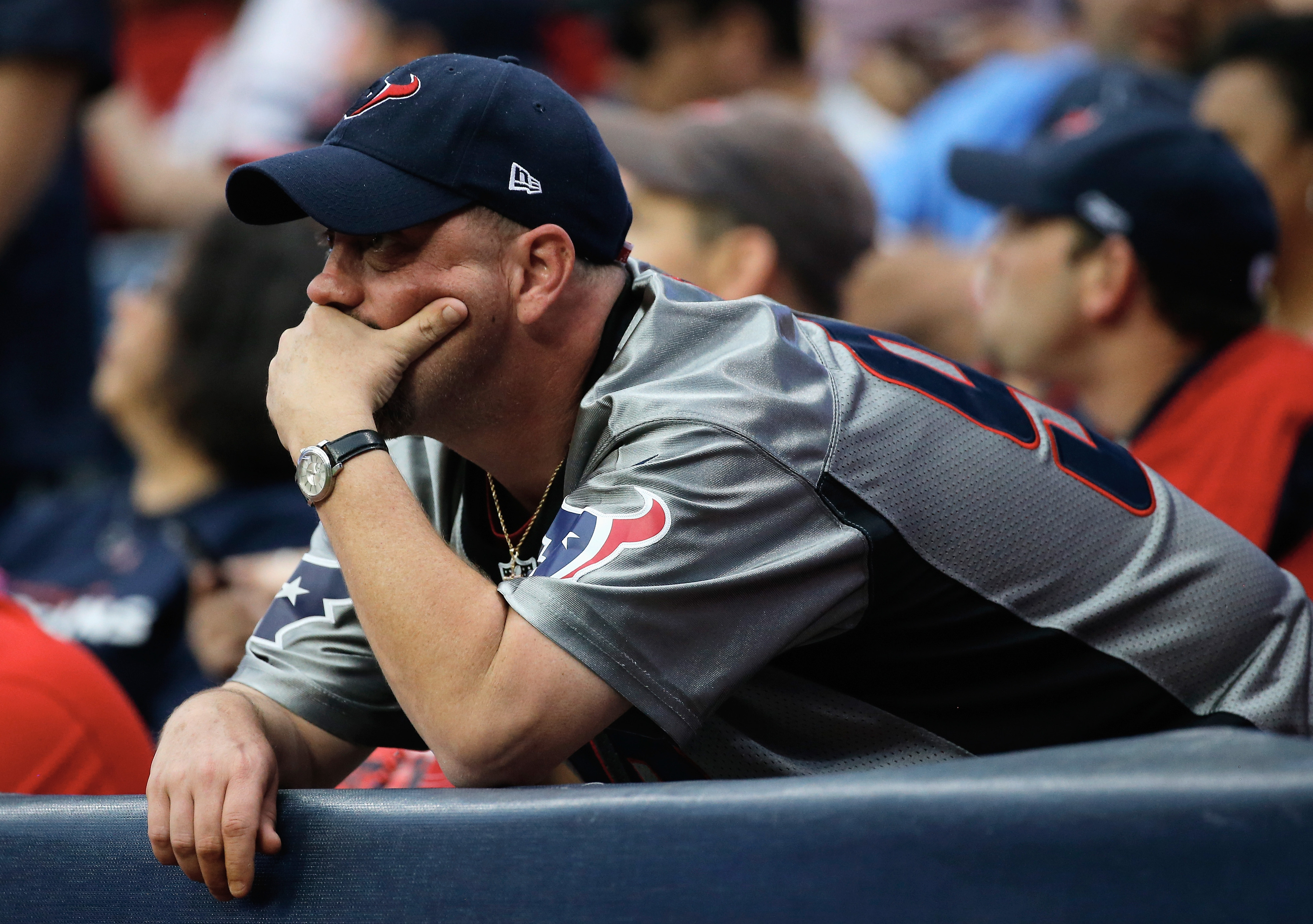 The face of Texans fandom these days.