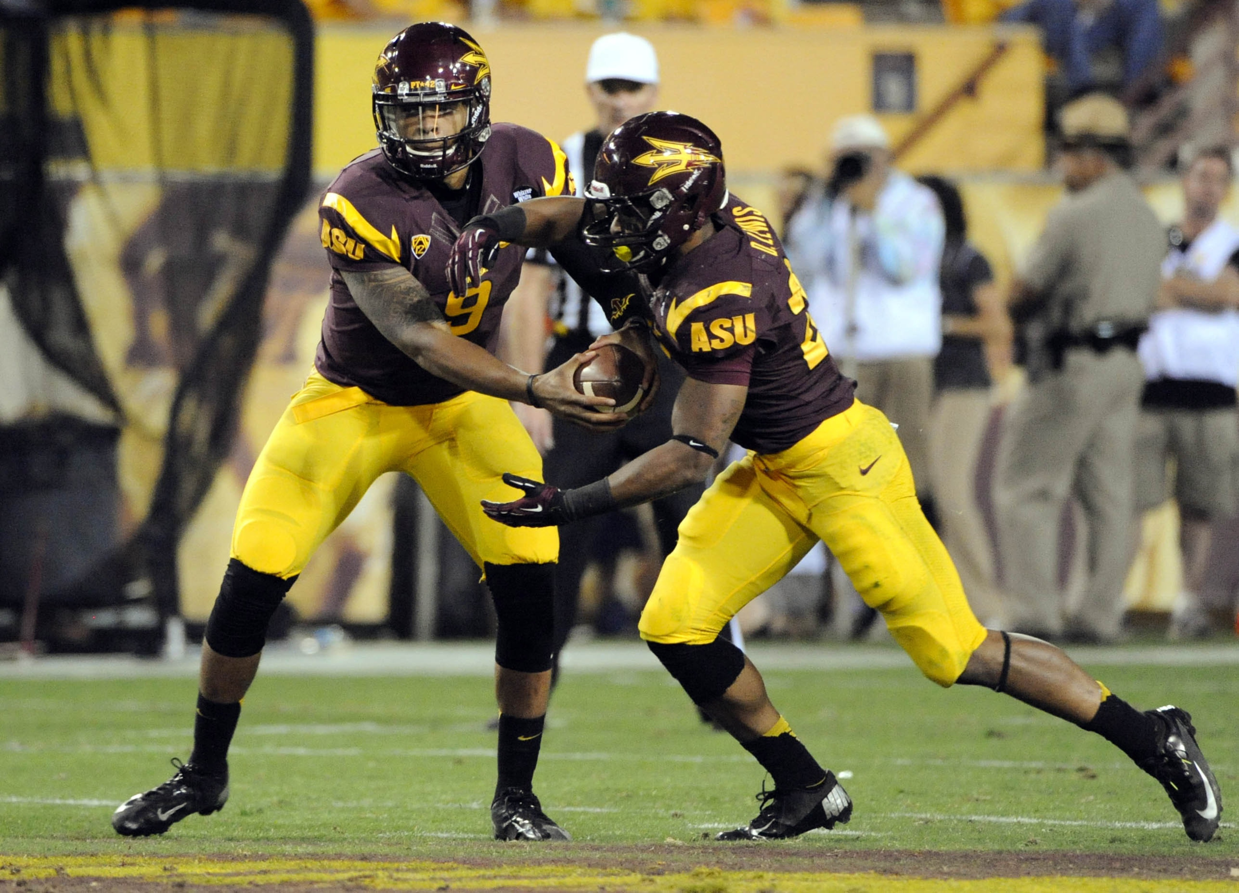 Will the Sun Devils be able to overcome the Husky's Bishop Sankey on Saturday?