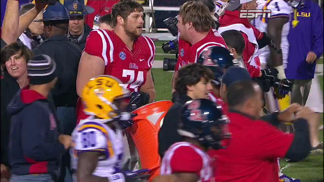 Ole Miss: win the party, the game, but not the Gatorade bath.