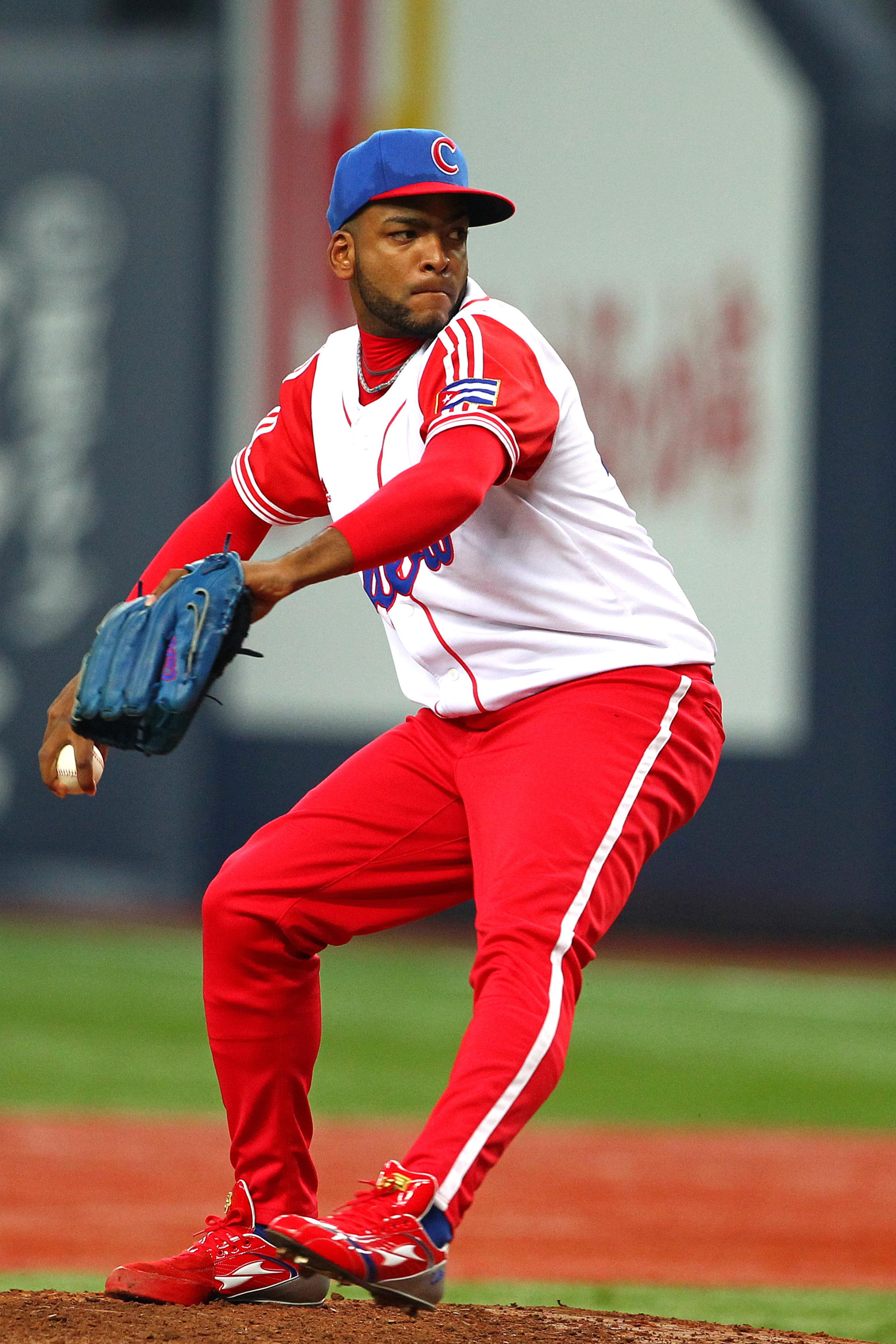 Cuban pitcher Odrisamer Despaigne to have showcase for MLB teams