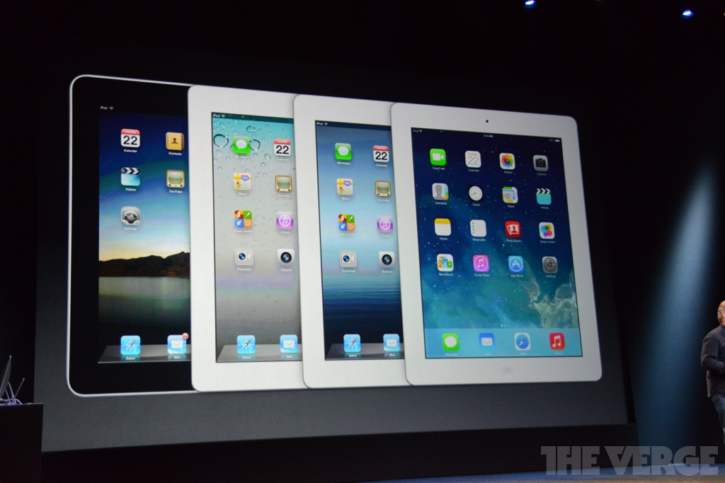 Apple unveils the iPad Air and retina iPad Mini, both ship in November