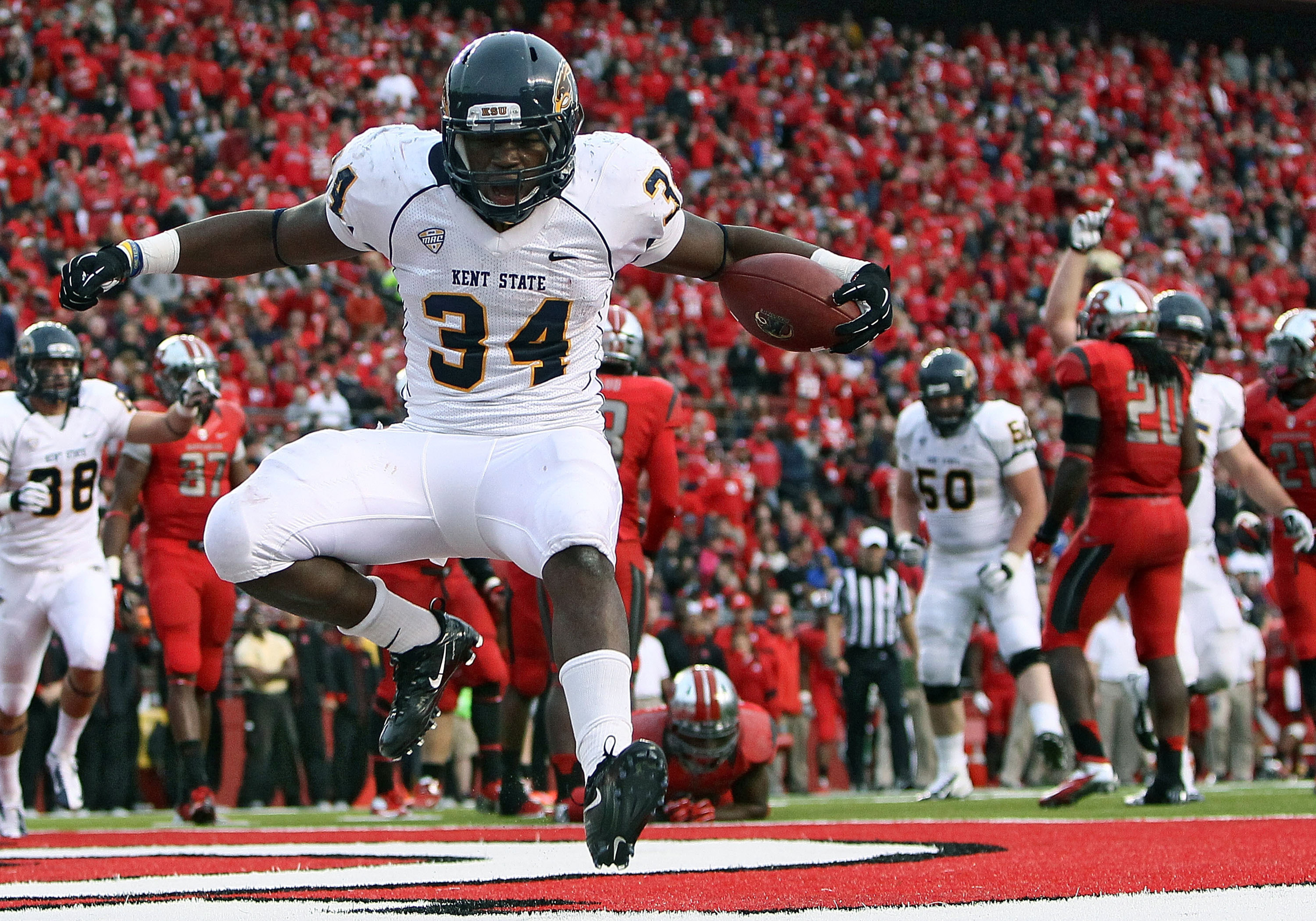 Kent State RB Trayion Durham.