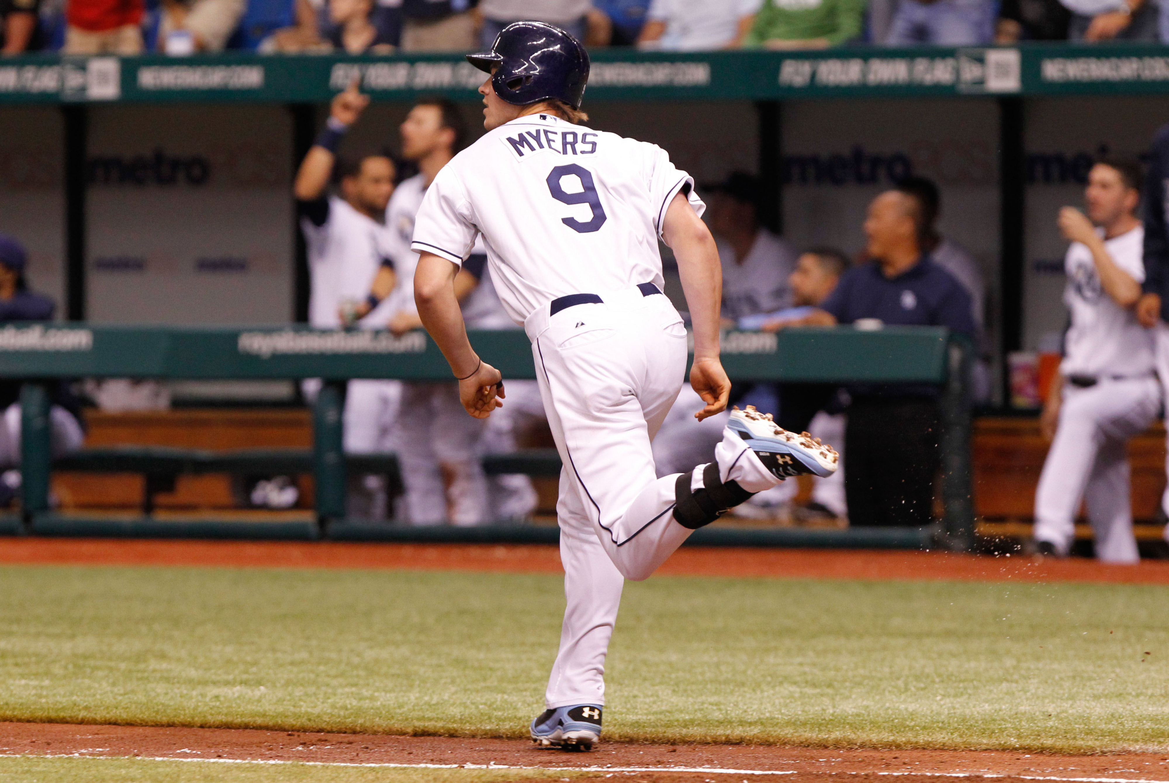 For the ladies... Wil Myers topped an okay crop of right fielders in the organization.