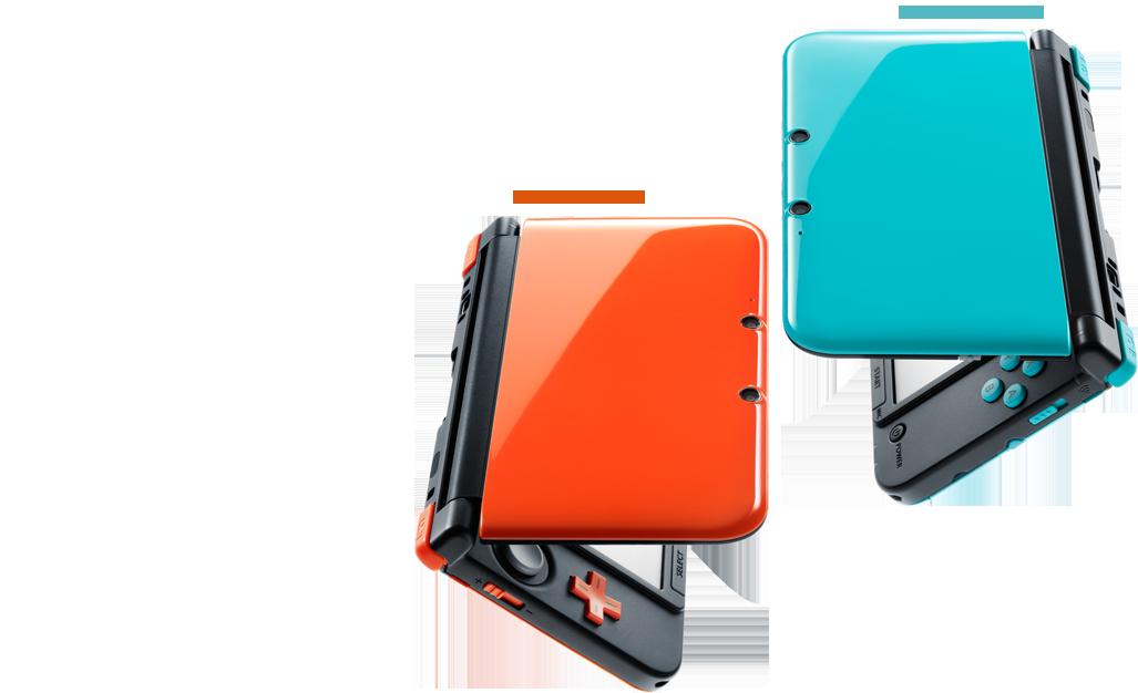 Nintendo releasing turquoise and orange 3DS XLs in Japan (update)