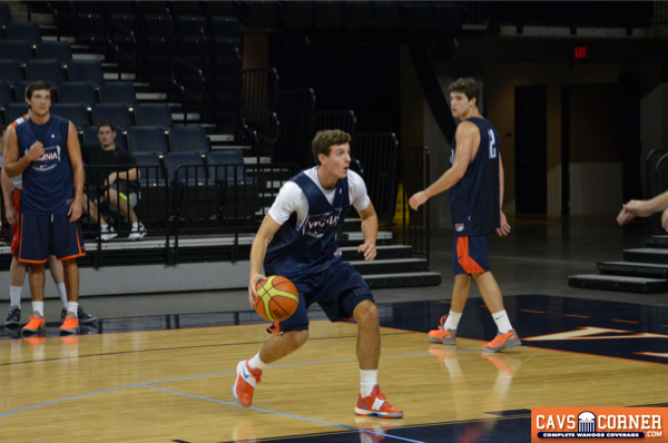 Taylor Barnette should expect to see significant minutes this season at guard