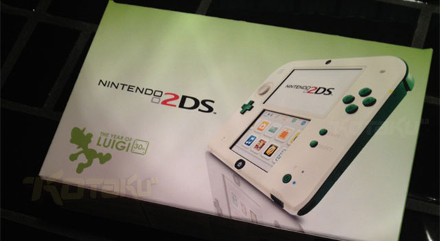 Report: Luigi-themed Nintendo 2DS spotted (update)