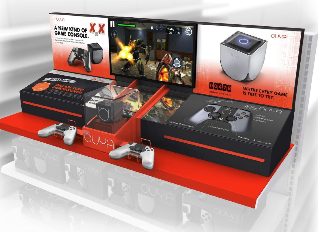 Ouya rolls out to Target stores nationwide, demo kiosks inbound