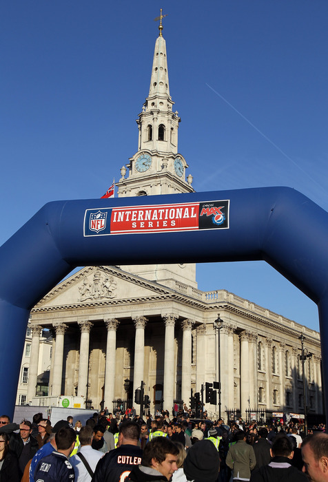 Cowboys, Dolphins and Lions chosen for NFL's 2014 London games