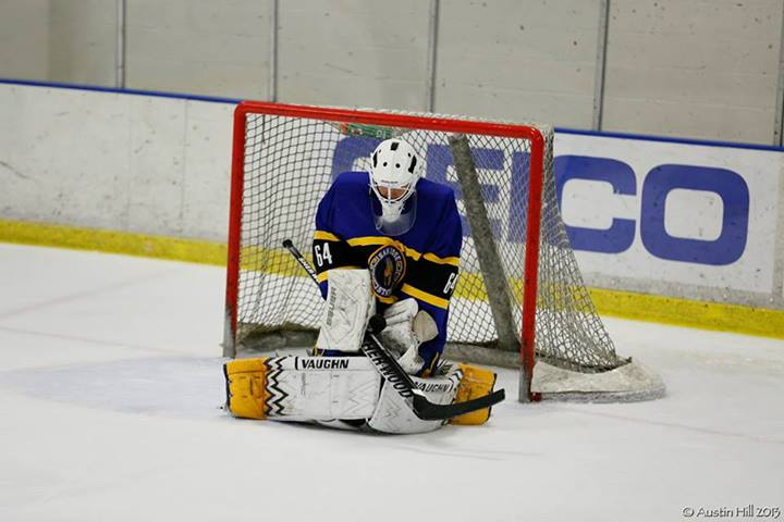 Spartan goaltender Mario Retana currently holds the school's second lowest career goals-against-average at 2.69.