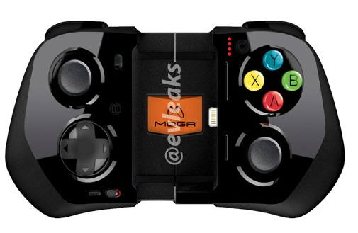 Leaked photos of MOGA's iPhone gamepad show built-in battery (update)