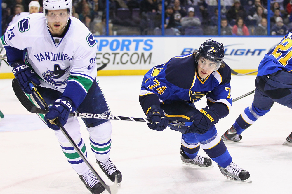 Edler was suspended on this play.