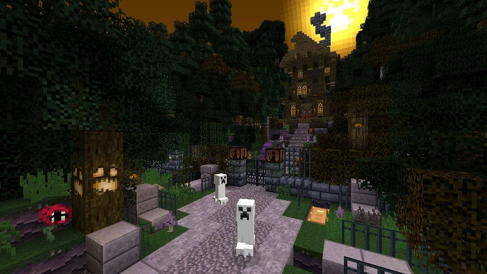 Minecraft Xbox 360 Edition gets free Halloween texture pack