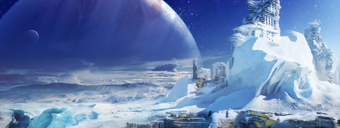 Destiny concept art featured in gallery exhibition