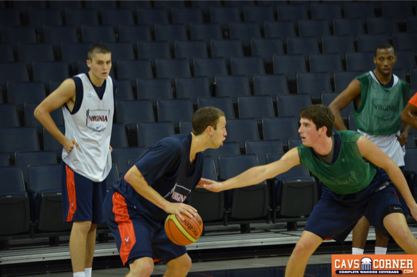 Caid Kirven will fill a vital role as a practice player at VIrginia