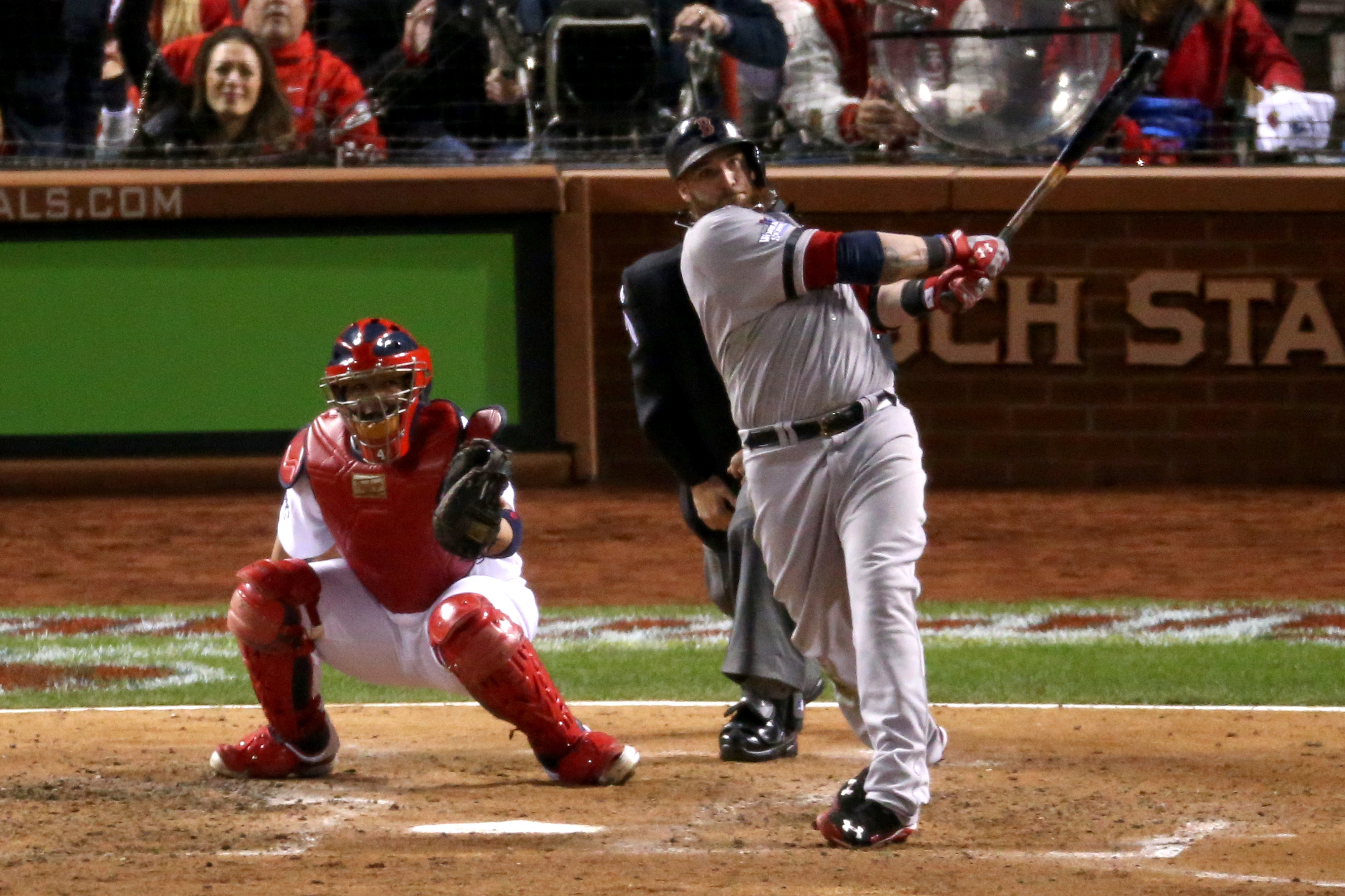 Red Sox vs. Cardinals, 2013 World Series Game 4 final score: Jonny Gomes, Boston even series with 4-2 win