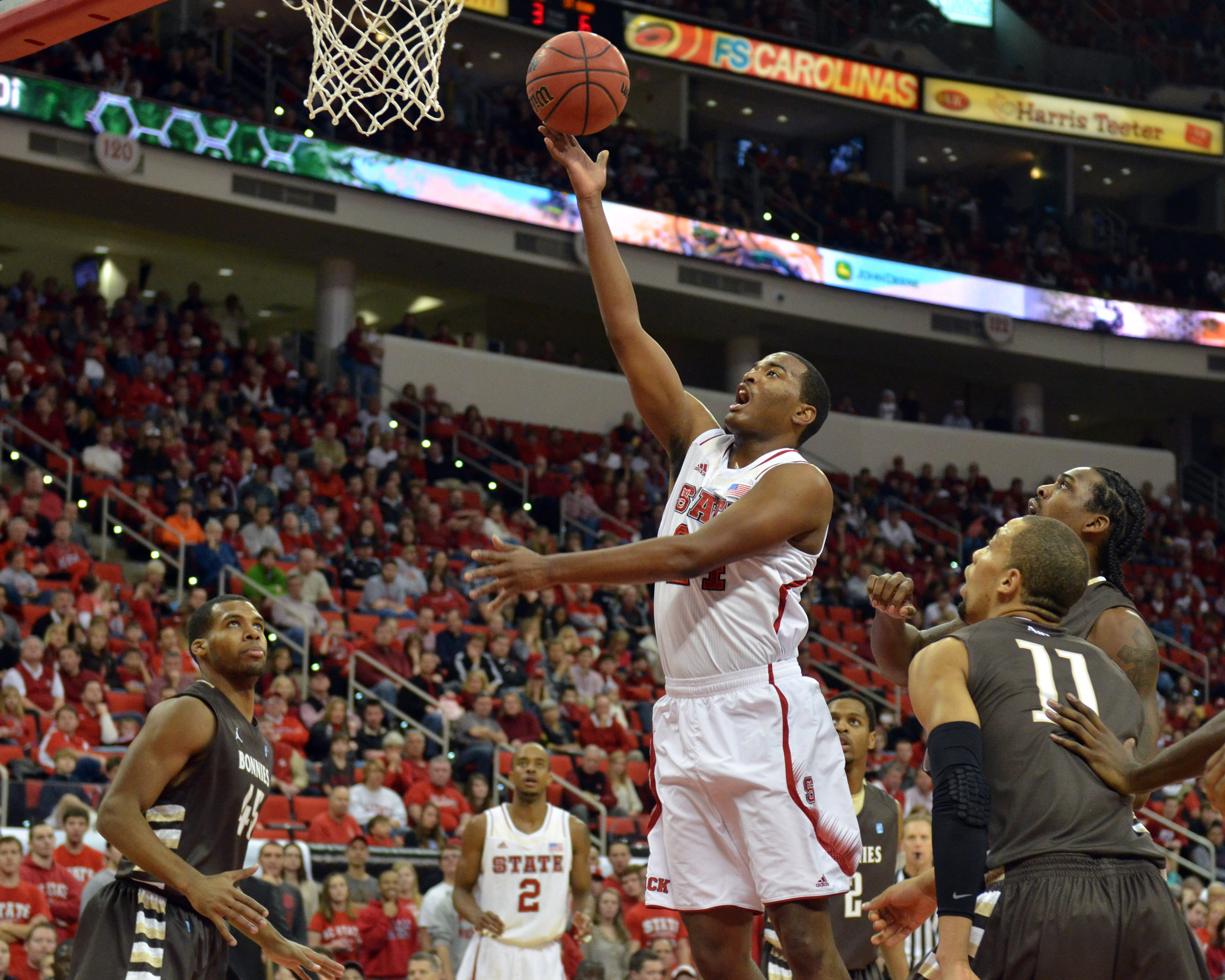 T.J. Warren is lone holdover from last year's Tournament team.