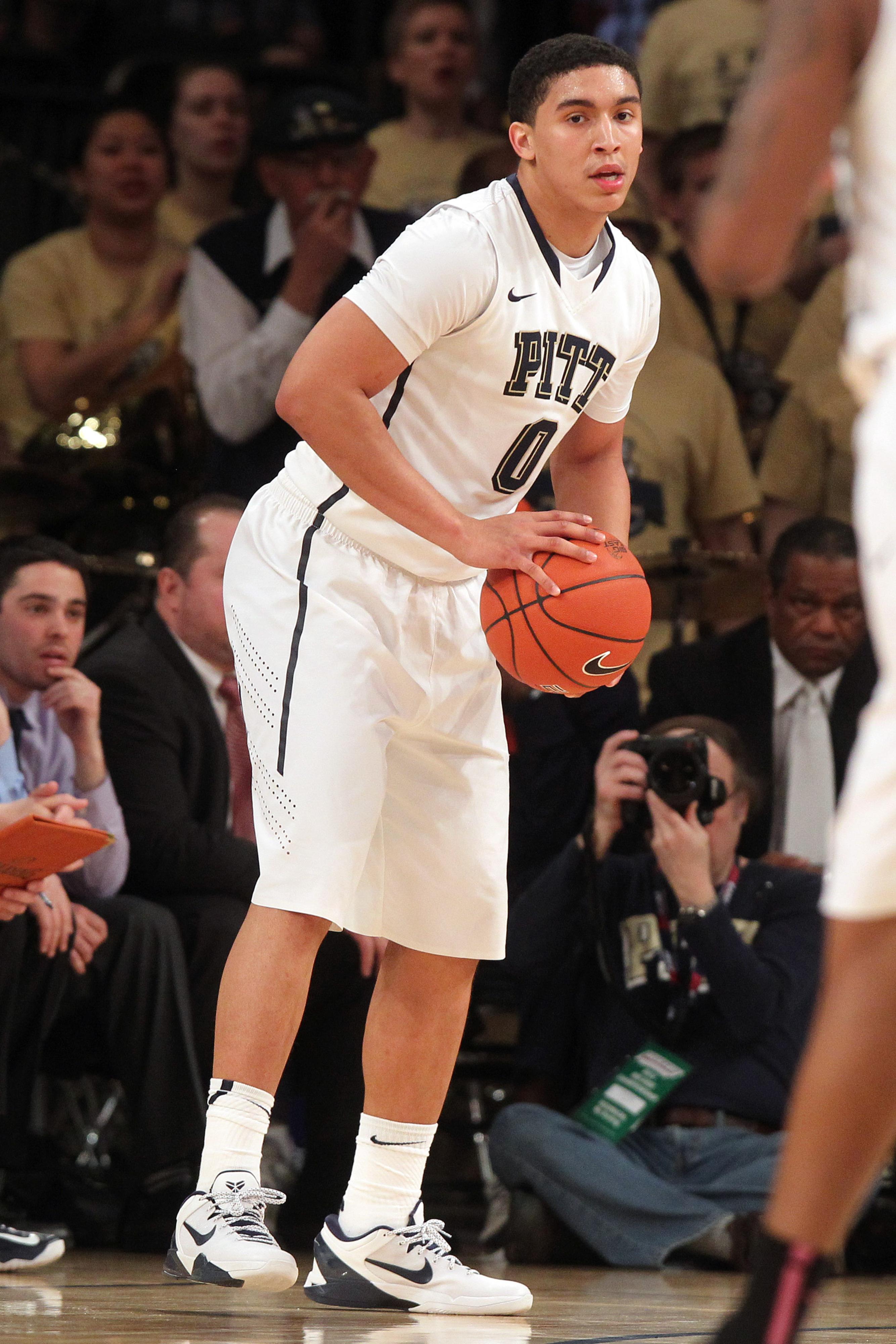 Sophomore PG James Robinson is Pitt's new team leader.