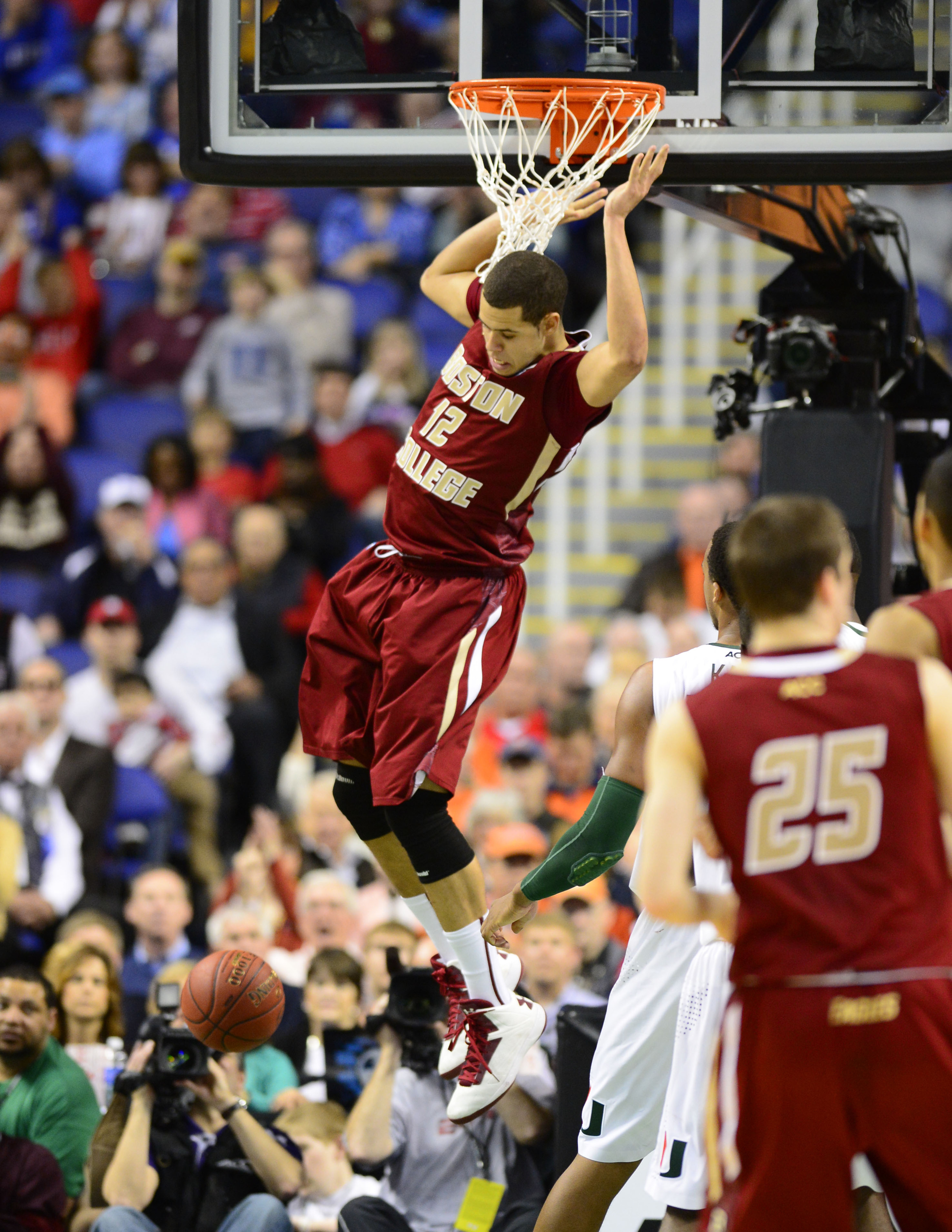 Boston College will go as far as Ryan Anderson can take them.