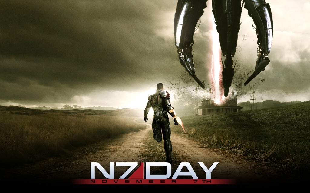 BioWare hosting Mass Effect N7 Day multiplayer events, charity auction