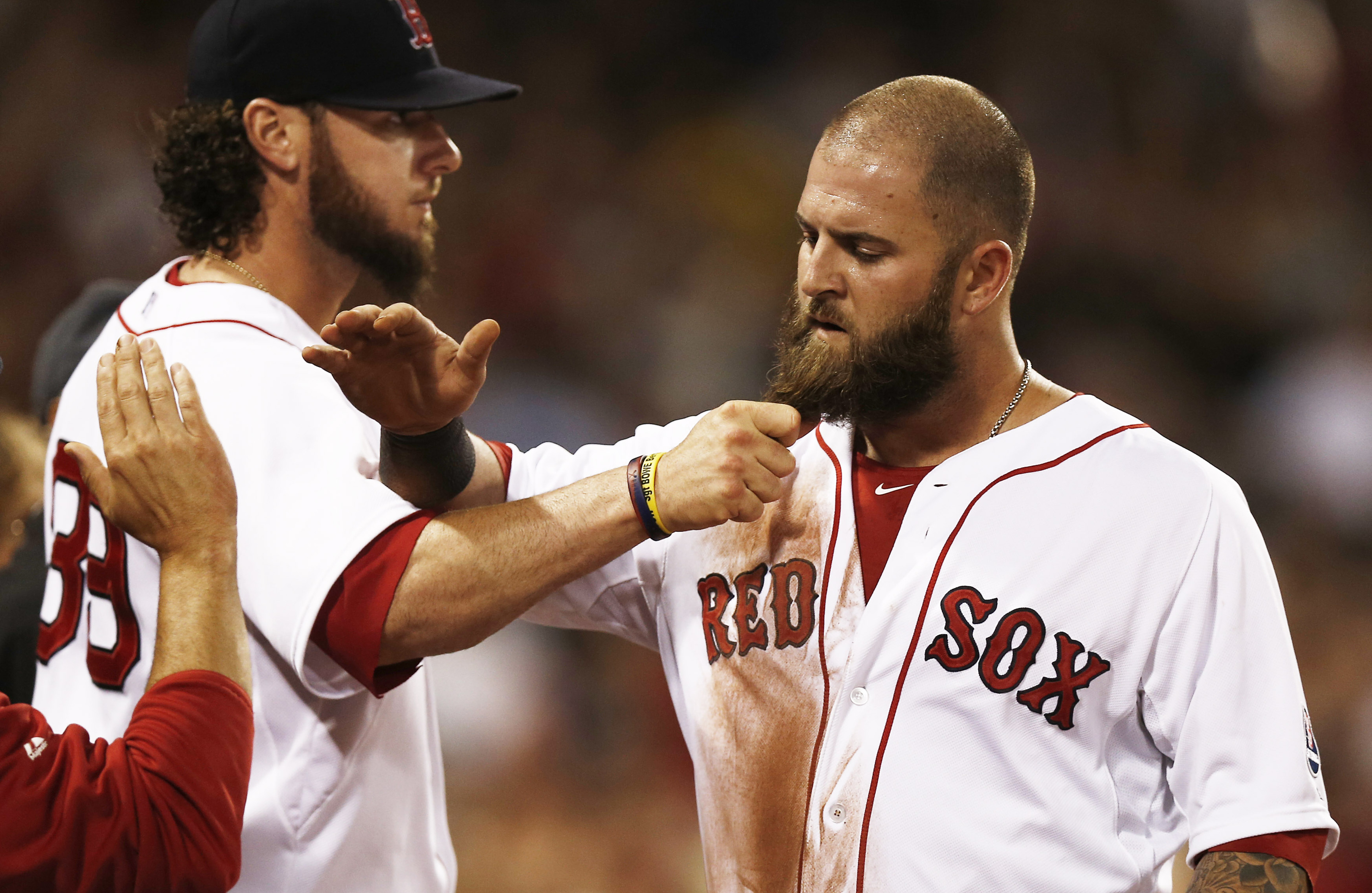 Mike Napoli wants return to Boston Red Sox